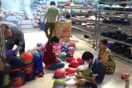 TP.Hồ Chí Minh phát hiện 3 cơ sở làm giả Nón Sơn