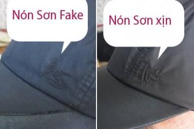 Cách phân biệt mũ Nón Sơn thật và giả