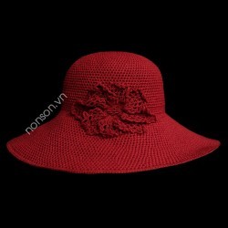Nón đan tay DH085B-DO1