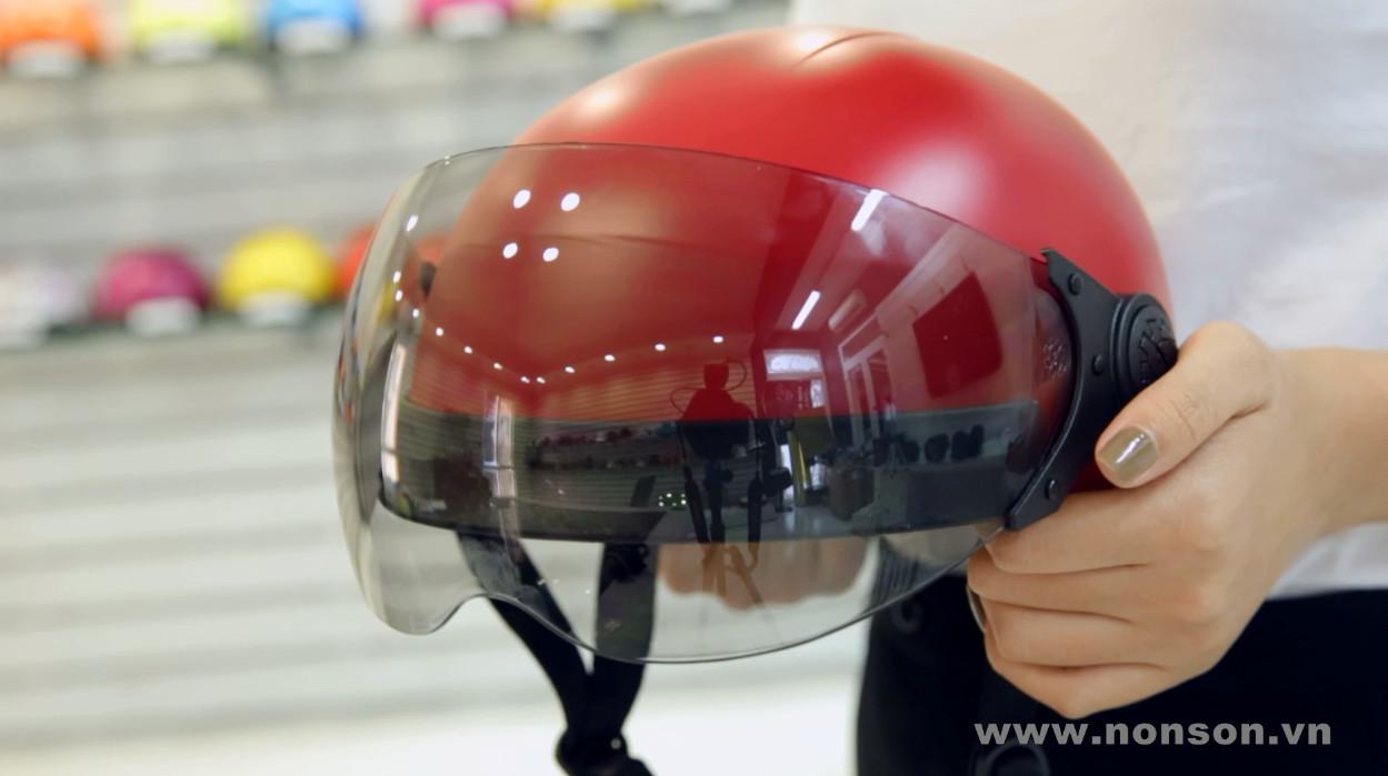 Nón Sơn - Giới thiệu sản phẩm Mũ bảo hiểm có kính