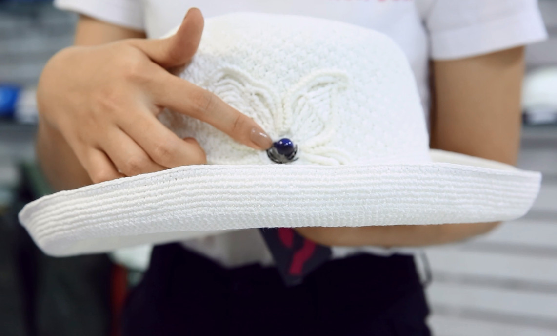 Nón Sơn - Giới thiệu sản phẩm nón đan tay ĐH101-TR1
