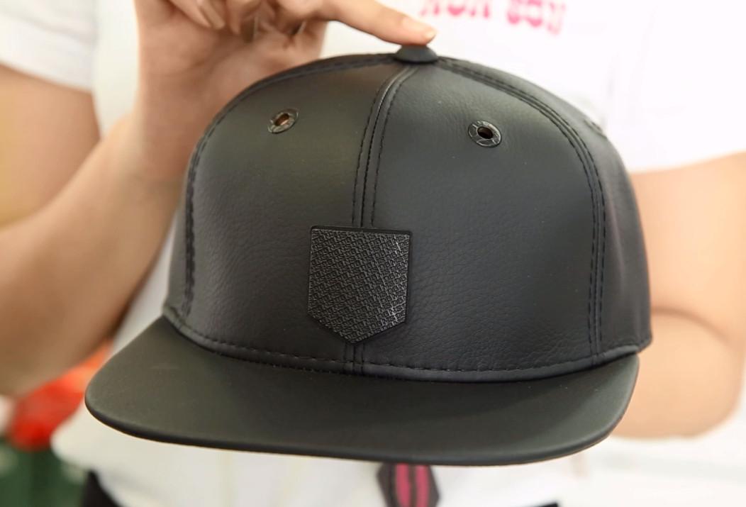 Nón Sơn - Giới thiệu sản phẩm nón Snapback da MC224