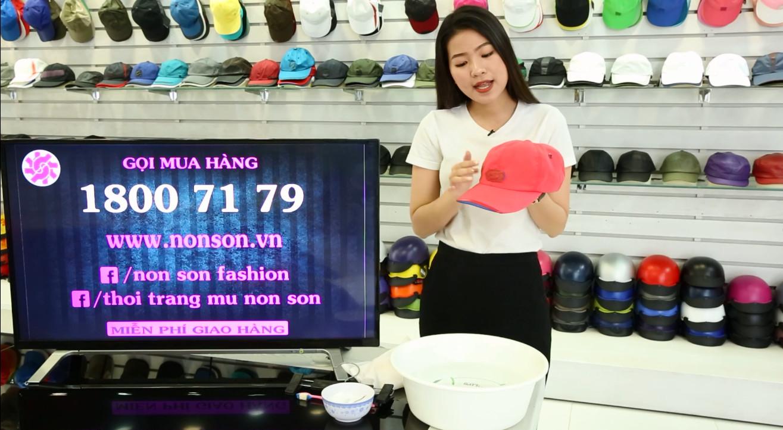 Nón Sơn - Hướng dẫn giặt nón kết đúng cách