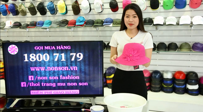 Nón Sơn - Hướng dẫn giặt nón vành đúng cách