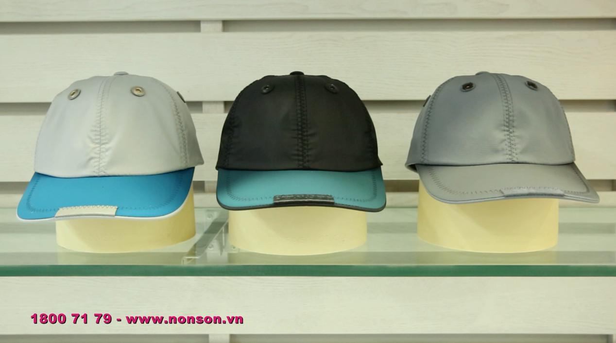 Nón Sơn - Giới thiệu 3 màu sắc mới của sản phẩm MC001A