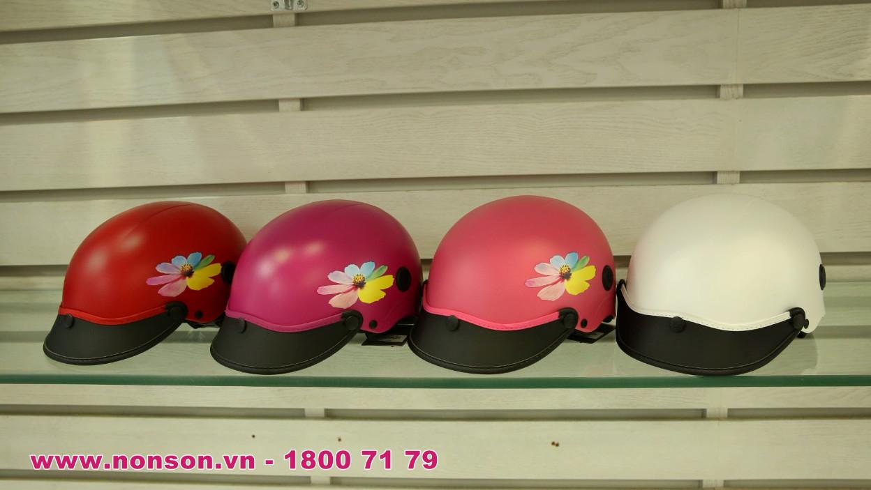 Nón Sơn - Giới thiệu mũ bảo hiểm hoạ tiết