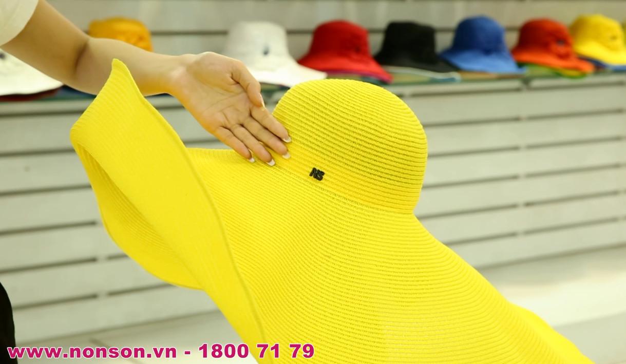 Nón Sơn - Giới thiệu nón thời trang vành lớn