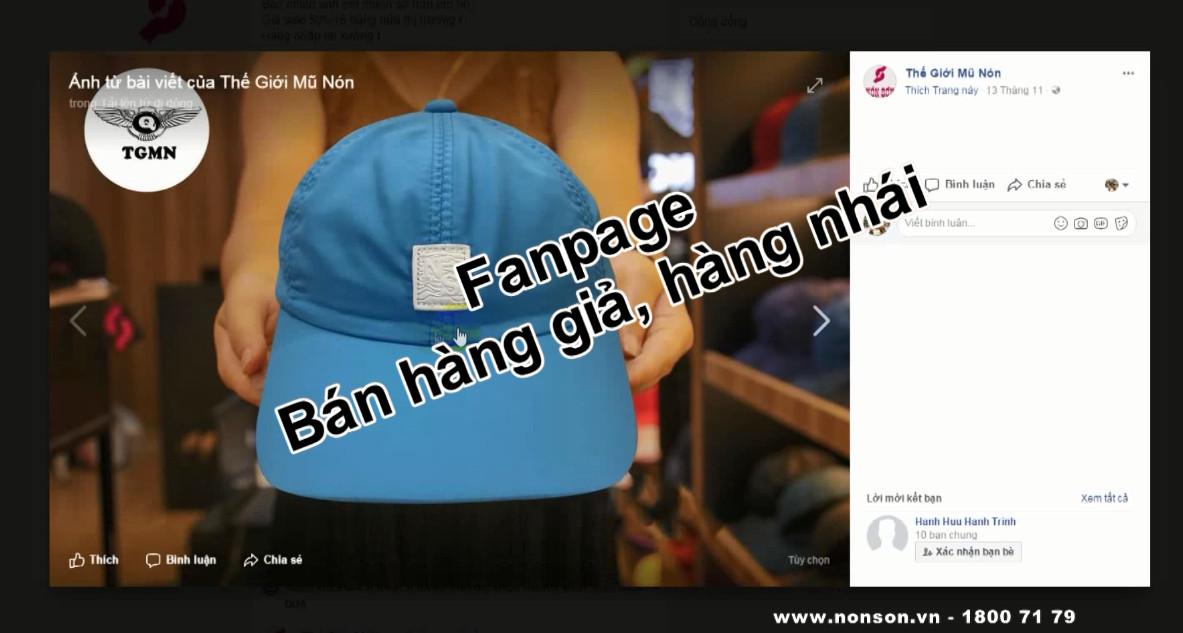 Nón Sơn - Hướng dẫn phân biệt hàng nhái hàng giả thương hiệu Nón Sơn