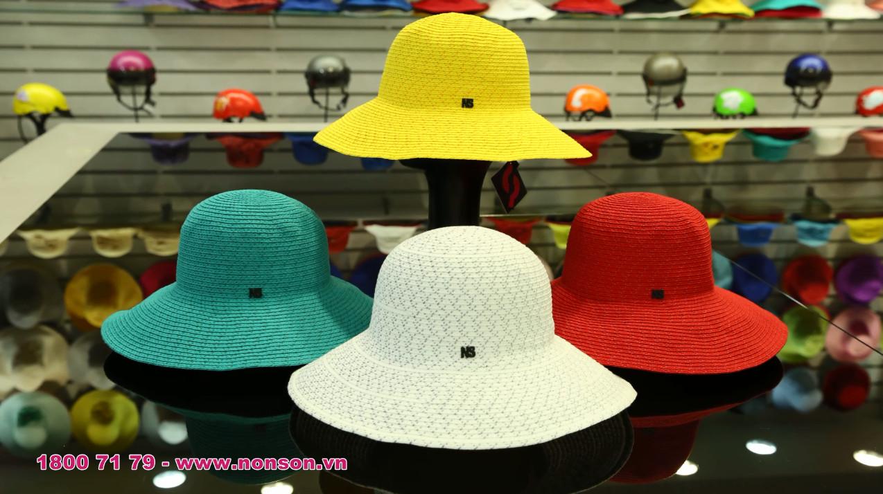 Nón Sơn - Giới thiệu sản phẩm nón vành thời trang XH001-62.-62A
