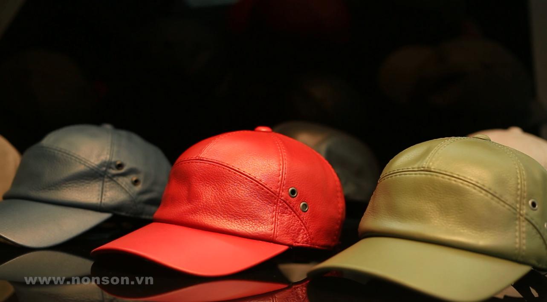 Quy trình sản xuất nón da cao cấp
