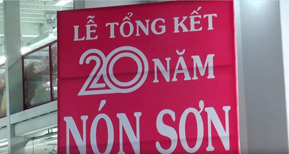 Lễ tổng kết 20 năm thành lập Nón Sơn